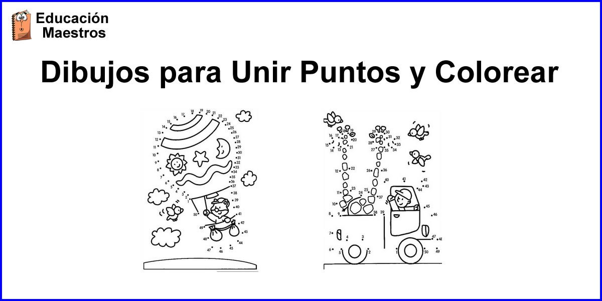 Dibujos Para Unir Puntos Y Colorear Imprimir Pdf