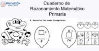 Cuaderno de Razonamiento Matemático - Primaria